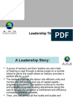 Chapter 5 Leadership Theories