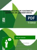 Manejo Seguro de Sustancias Quimicas en Laboratorio p