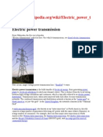 Electric power transmission.docx