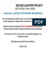 ICT-7 Q2 Project Flash Cards Instructions