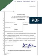 Kinderstart.Com, LLC v. Google, Inc. - Document No. 101