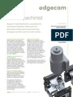 EC-Solid Machinist Part Modeller