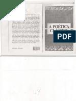 Aristóteles, Horácio, Longino - A Poética Clássica(1)
