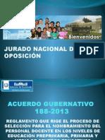 Acuerdo Gubernativo 188-2013