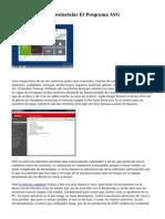 cinco Formas De Desinstalar El Programa AVG