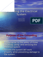 Grounding the Electrical System