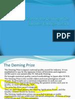 Deming vs Baldrige Awards