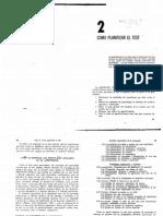 Gronlund (1974) Cap 2. Cómo Planificar El Test