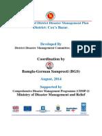 DM Plan Cox's Bazar District_English Version-2014