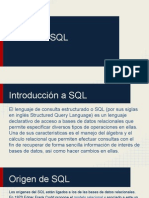 Introduccion a SQL(1)