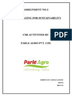 58145975 CSR Activity OF PARLE AGRO