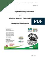 Port Hasting Operating Handbook