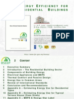 Energy Efficiency for Residential Building