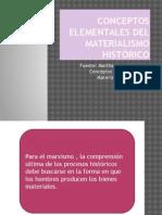 3 Conceptos Elementales Del Materialismo Histórico