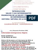 Clase Nº 01 Introducción Salud y Sus Determinantes Promoción de La Salud y Prevención de Enfermedades Historia Natural de La Enfermedad