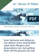 Joint Ventures - Key Success Factors