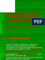 Flow of Fluid Through Fixed Beds