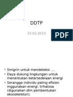 catatan DDTP