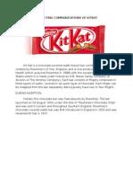 Marketing Communications of Kitkat