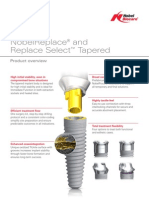 75764A_NobelReplace Tapered_Replace Select Product Overview_GB