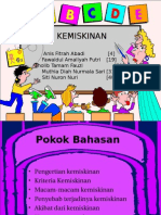 KEMISKINAN (kelompok 8 kelas X1).ppt