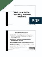 Ali Brown - Coaching Business Secrets Manual