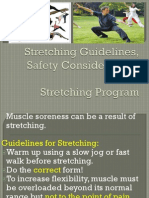 Stretching Guidelines