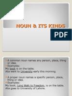 Noun & Its Kinds
