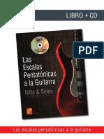 Escalas pentatonicas Guitarra