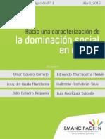 Cuaderno de Investigación N°1 - Hacia una caracterización de la dominación social en el Perú