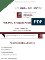 Neurofisiologia Del Sonno - Lezione IRPPI 22 Settembre 2012 - II Anno