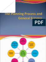 The Planning Process and General Surveys
