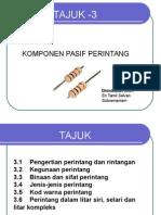 Komponen Pasif Perintang(Tamil)