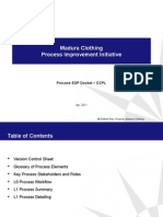 Apparel Manufacturing Process Flow