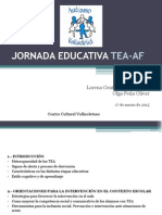 Jornada Educativa TEA-AF Centro Cultural Vallisoletano (1)