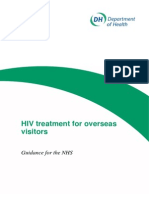 DH Guidance HIV and NHS Charging FORMATED