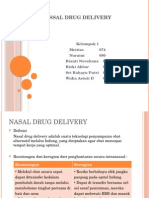 Nassal Drug Delivery Final