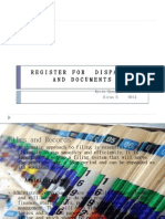 Register for Dispatch and Documents 07