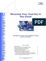 Securing Your Journey to the Cloud-Cloud Computing