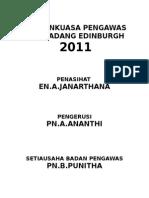 JAWATANKUASA PENGAWAS 2011