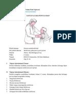 SAP Mobilisasi Pada Pasien Post Operasi