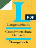 Langenscheidts Grundwortschatz Deutsch Übungsbuch