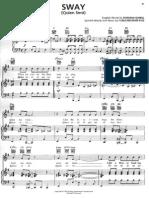 Michael Buble-Sway Sheet Music