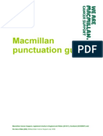 Macmillan Punctuation Guide