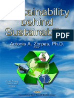 Sustainability behind sustentability