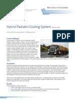 Hybrid Radiator-cooling System