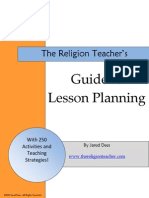 TheReligionTeachers Guide to Lesson Planning
