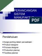 Perancangan Sistem Manufaktur