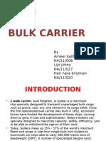 Bulk carrier Design project