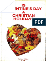 Is Valentine's Day a Christian Holiday